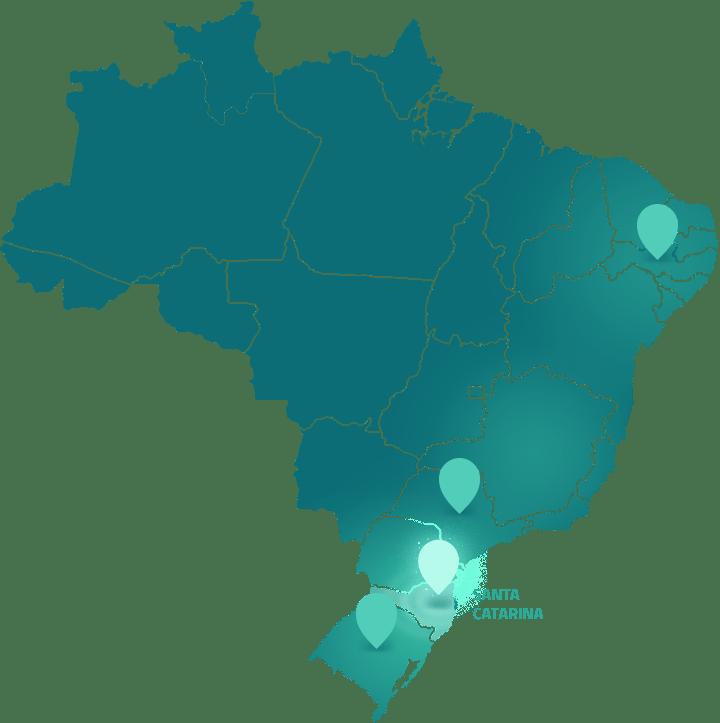 Mapa SC